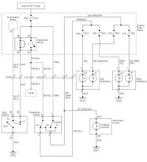 daewoo matiz ignition wiring diagram electro help daewoo matiz car lighting systems