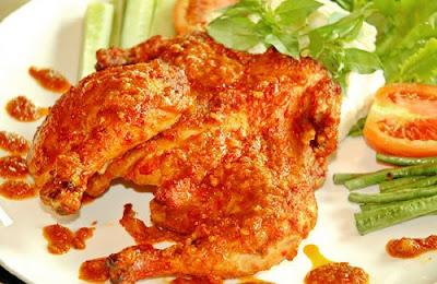Resep Ayam Bakar Rujak Asam Manis