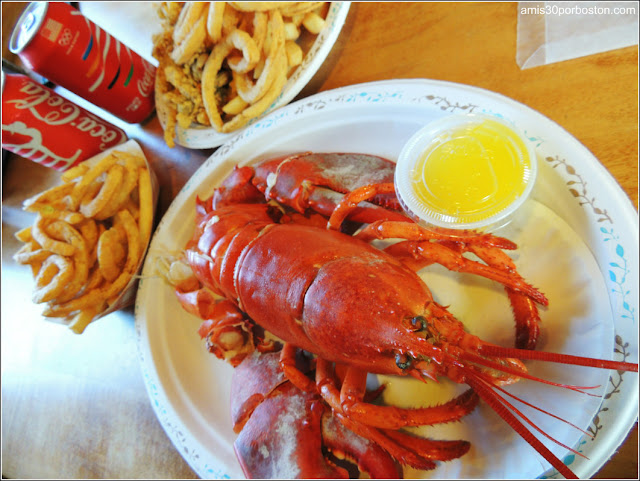 Lobster Shacks en Massachusetts: Cena en el JT Farnham's