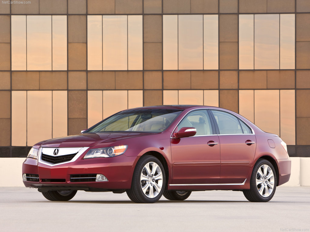 World Automotive Collection: 2009 Acura RL