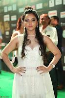 Meghana Gaur in a Deep Neck Sleeveless White Gown at IIFA Utsavam Awards 043.JPG
