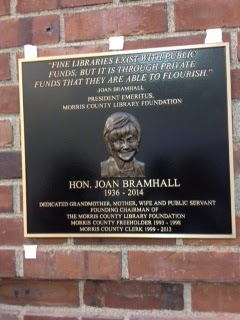 Children's Room at Morris County Library Dedicated to Joan Bramhall