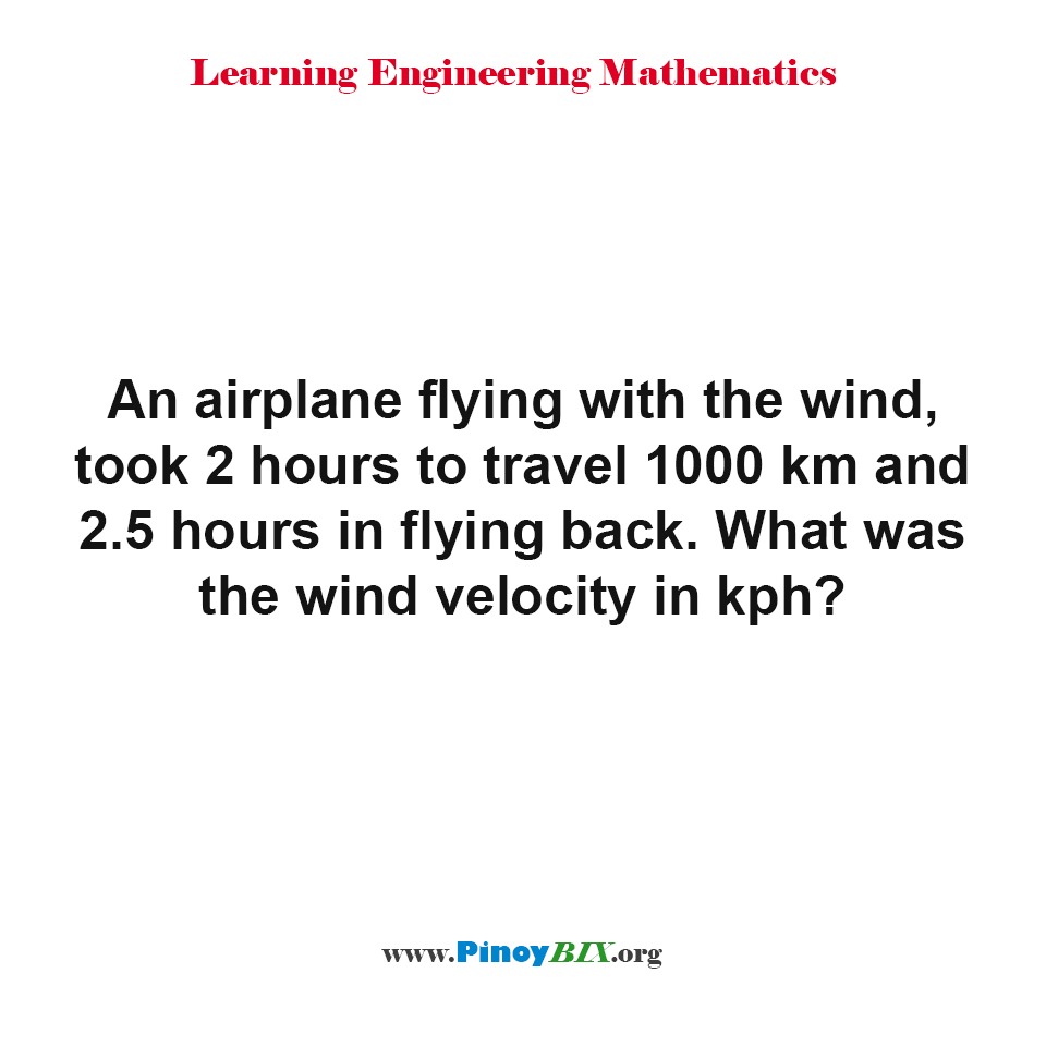 What was the wind velocity in kph?
