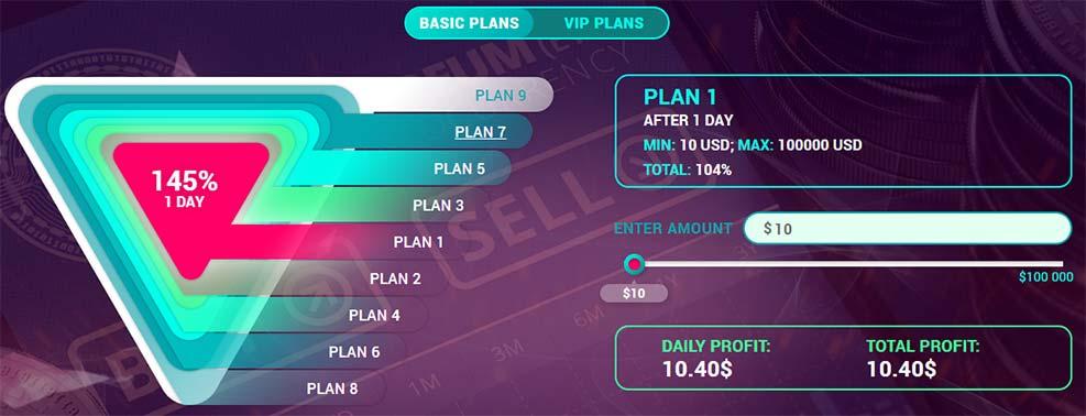 Инвестиционные планы EthereumPro