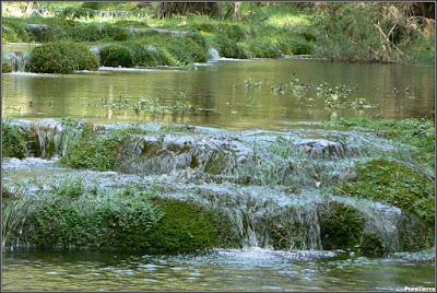 El Río Escabas a la salida de El Hosquillo