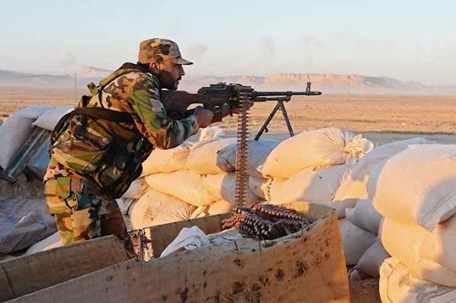Ejército sirio mantiene fuertes combates conta terroristas