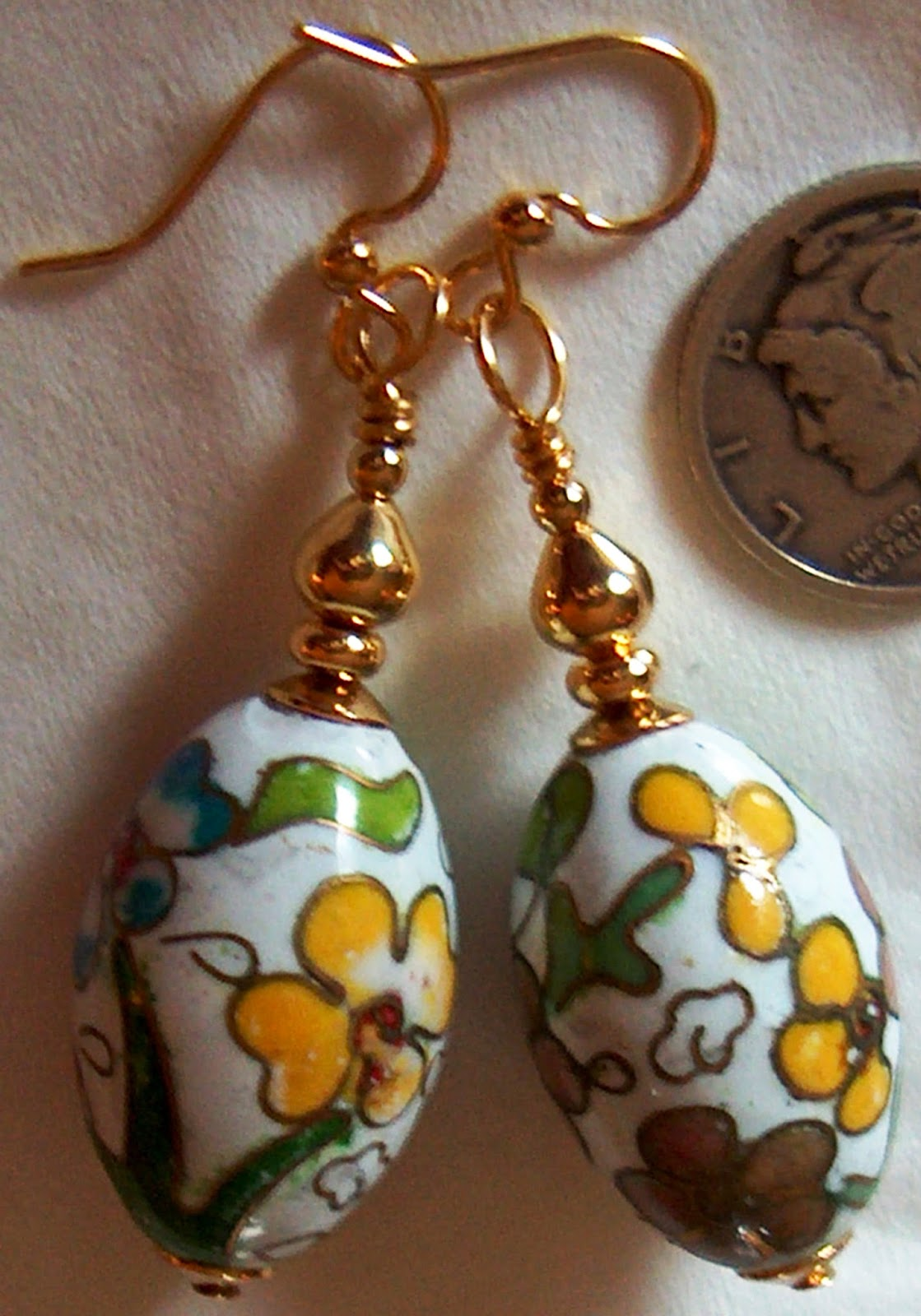 Easter Egg Earrings Ask Resa !