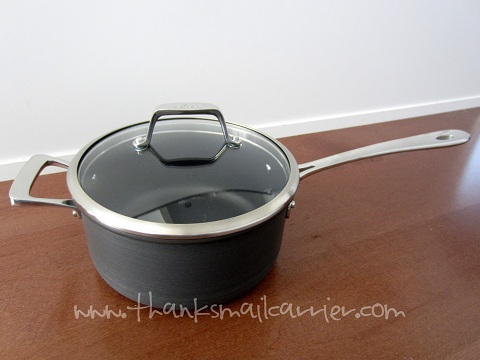 All-Clad 3 qt saucepan