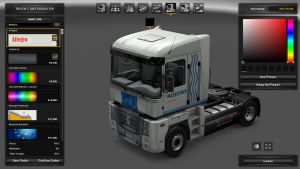 Allegro Skin for Renault Magnum