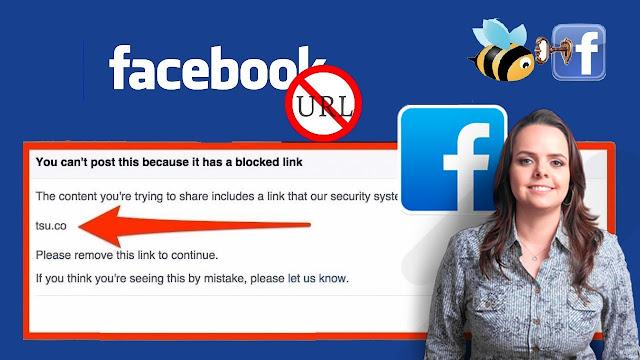 حل مشكلة عدم نشر الروابط المختصرة على الفيس بوك لتفادي حظر حسابك