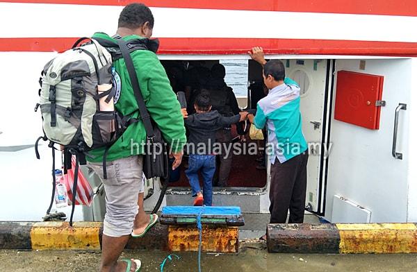 Raja Ampat Boat Ferry Service