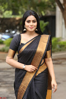 Poorna in Cute Backless Choli Saree Stunning Beauty at Avantika Movie platinum Disc Function ~  Exclusive 147.JPG