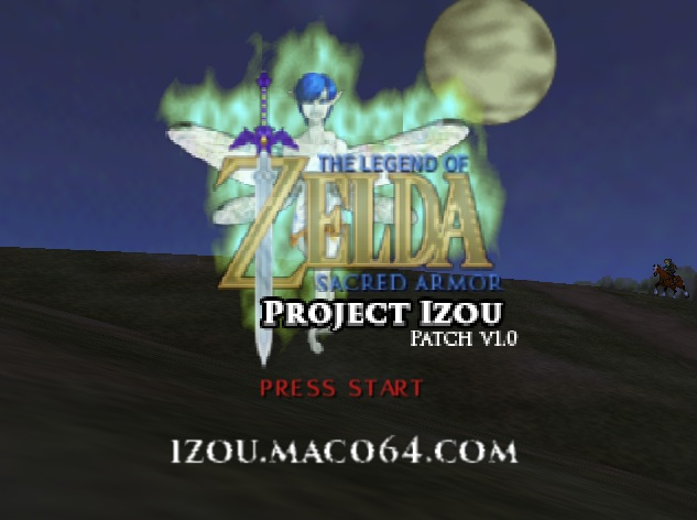 Legend of Zelda The - Izou Hack rom