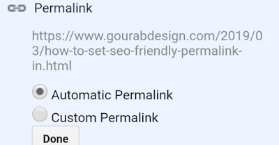 automatic blogger post permalink image