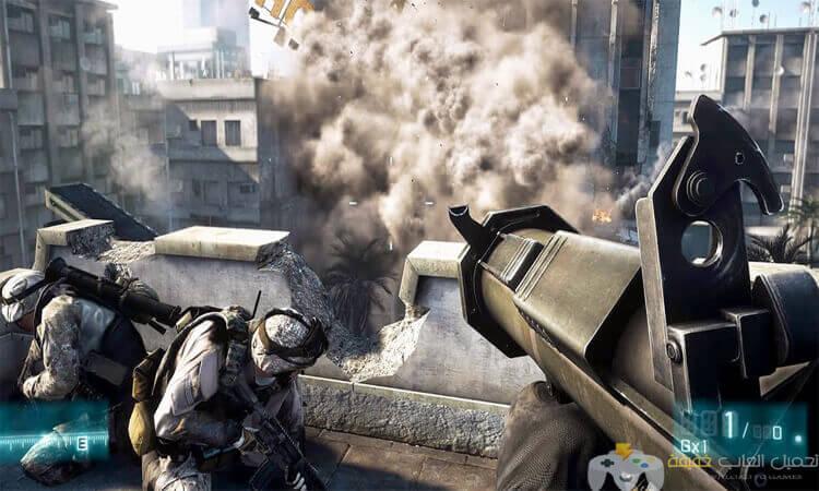 تحميل لعبة 3 Battlefield مضغوطة بحجم صغير