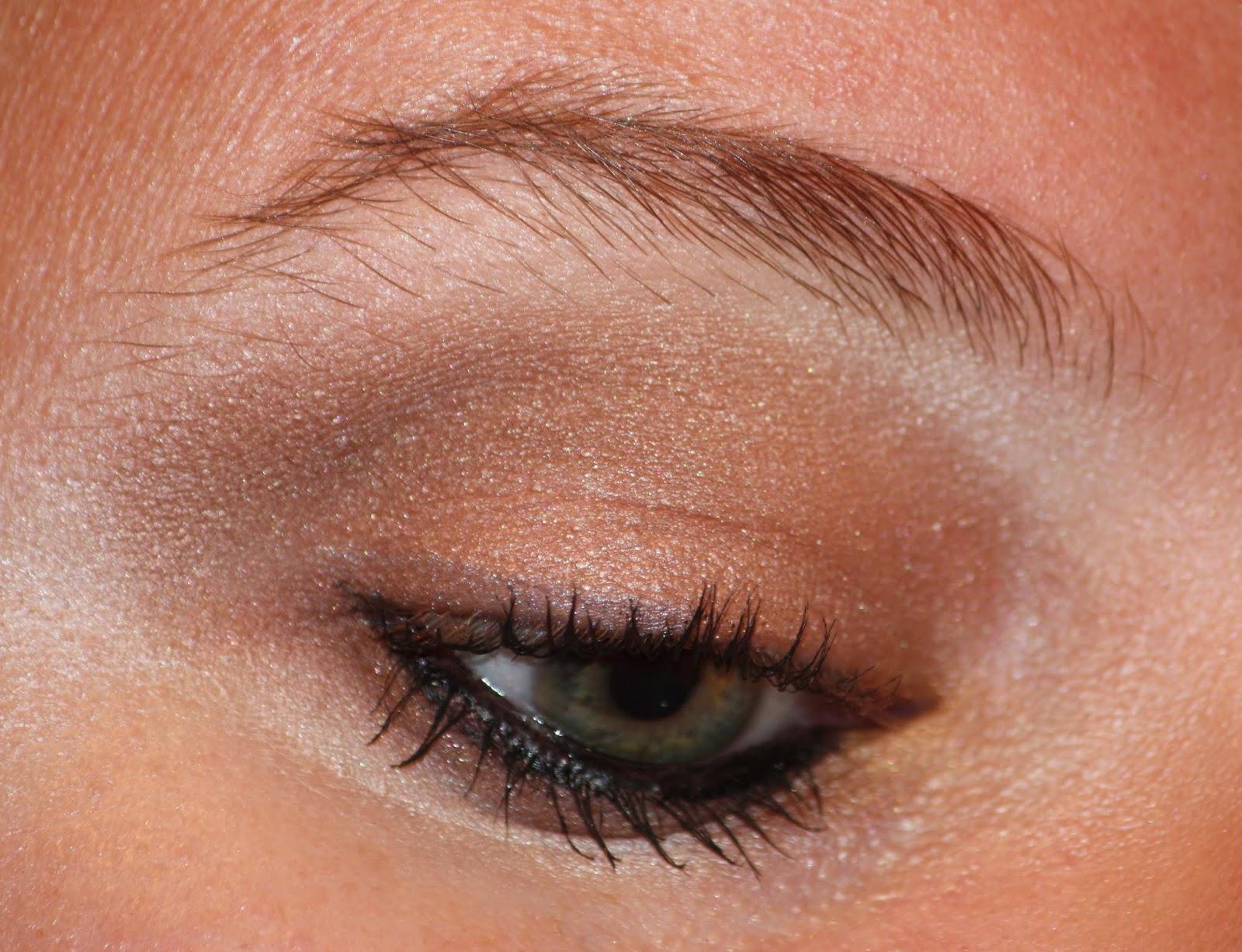 Die Zauberin Zebulon: Brown Smokey Eye MakeUp