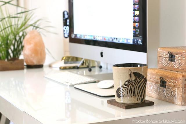 Modern Bohemian Desk Ideas