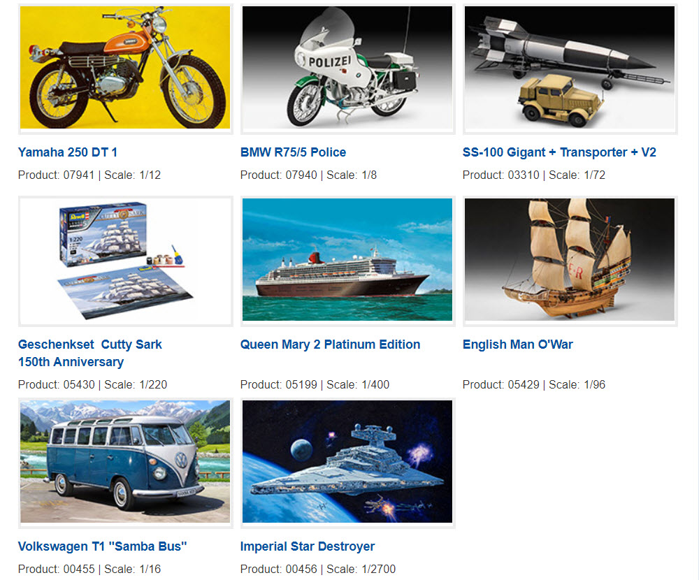 The Modelling News: Revell's new releases named for 2019 - some