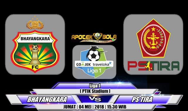 Prediksi Bhayangkara FC vs PS Tira 4 Mei 2018