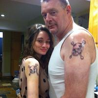 tatuajes de padre e hija mecanicos