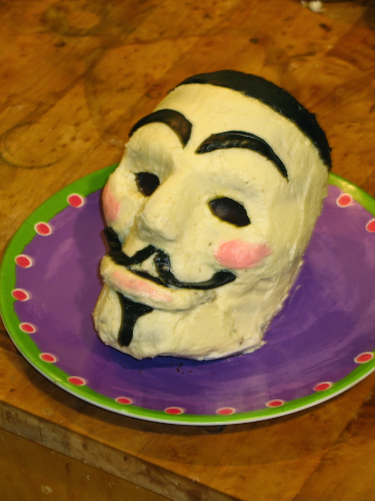 Guy Fawkes Day Cake Recipe
