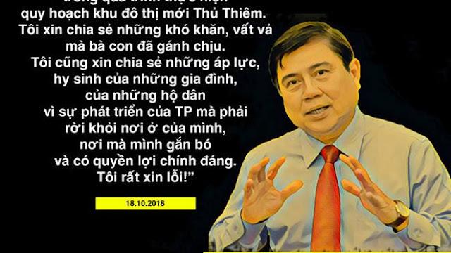 Ông Nguyễn Thành Phong nói gì khi tiếp dân Thủ Thiêm?