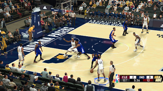 Indiana Pacers 2017-2018 Season HD Court