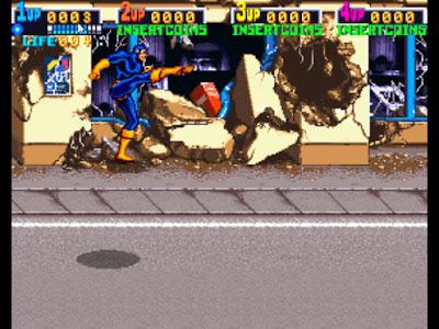 街機:X戰警(X-Men)+金手指作弊碼,KONAMI經典動作遊戲!