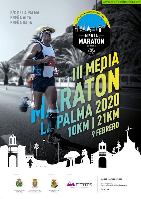 Apertura de inscripciones Media Maratón La Palma 2020