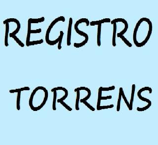 registro torrens