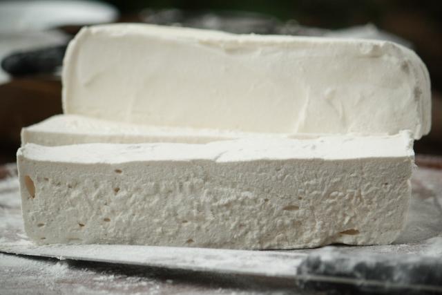 Malvavisco casero / Homemade marshmallow