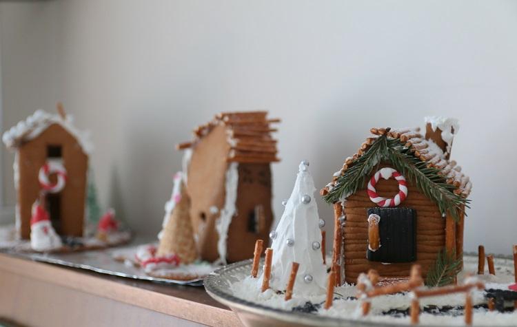 piparkakkutalo, gingerbread house, joulu, christmas