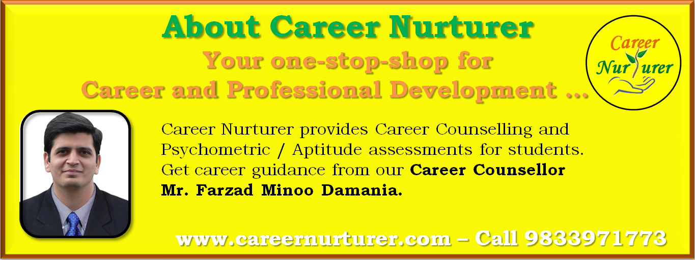 Career Nurturer provides career counselling and aptitude assessments for career guidance