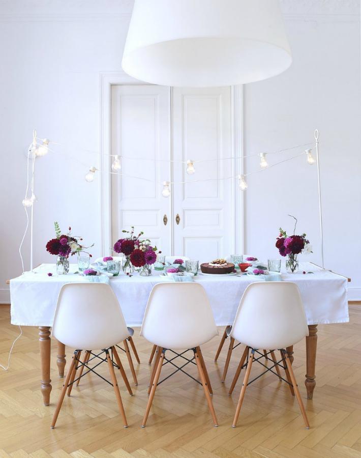 mesa otoño con flores ayudaadecorar.blogspot.com.es