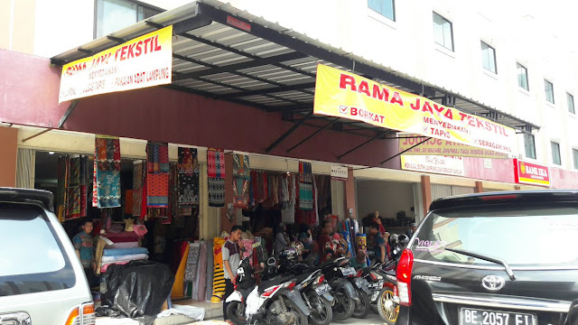 Toko Kain di Metro Lampung