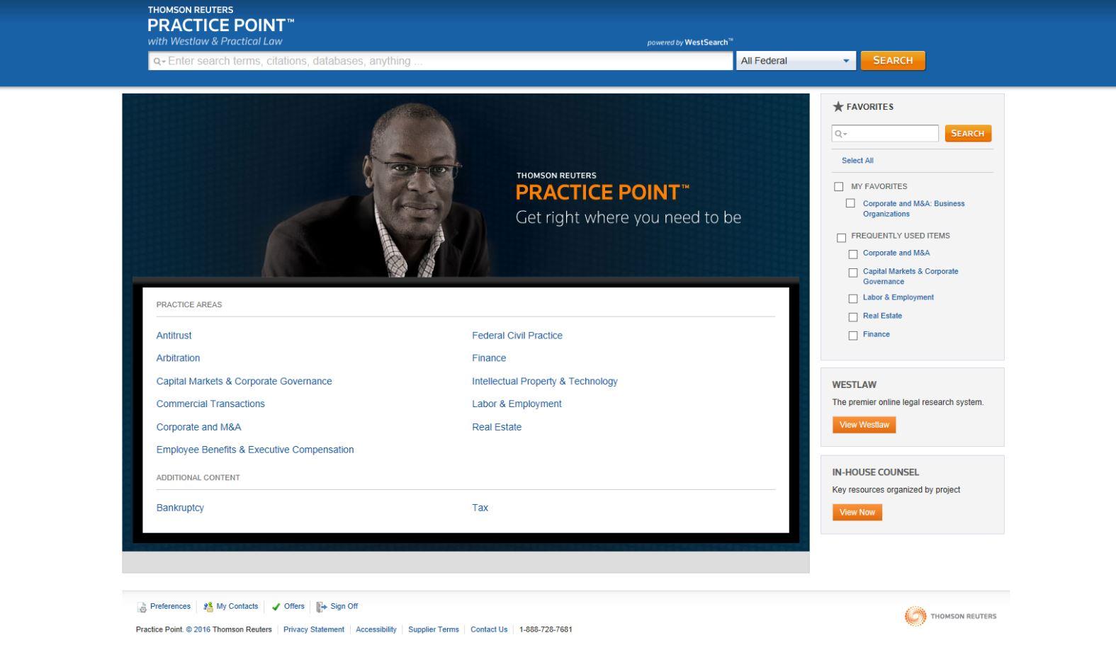 Practice Point: Thomson Reuters Promises
