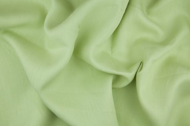 Avocado Handkerchief Linen Fabric
