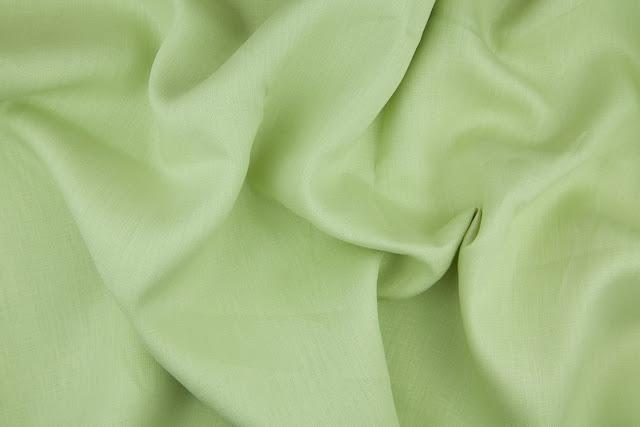 Avocado Handkerchief Linen Fabric