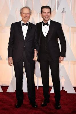 Clint Eastwood Bradley Cooper Oscars 2015