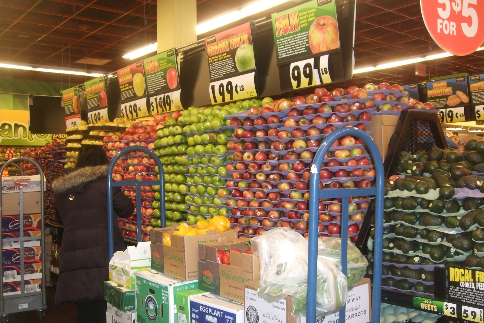 Fairway Shop Merle 39s Whirls Fairway Market Producing The Produce