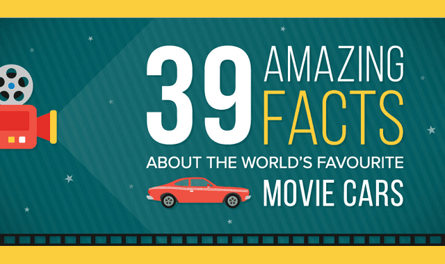39 Amazing Facts About the World's Favourite Movie Cars