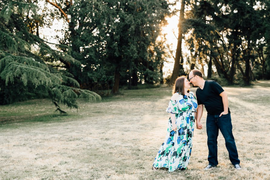 First Wedding Anniversary Session | Seattle Wedding Photographer | Something Minted Photography
