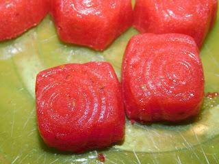 gefrorene Beeren