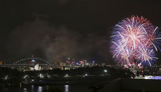 2014 new year celebration australia
