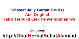 khasiat manfaat Jelly gamat gold G/SEA CUCUMBER asli ORIGINAL