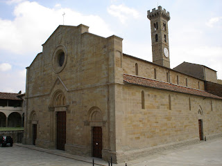 The 11th century cathedral of Fiesole