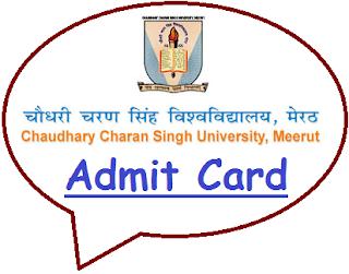 CCSU Admit Card 2020