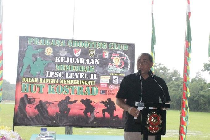 Lomba Menembak IPSC Kostrad Siapkan Hadiah Ratusan Juta Rupiah