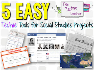 5 EasyTechie Tools for Social Studies Projects