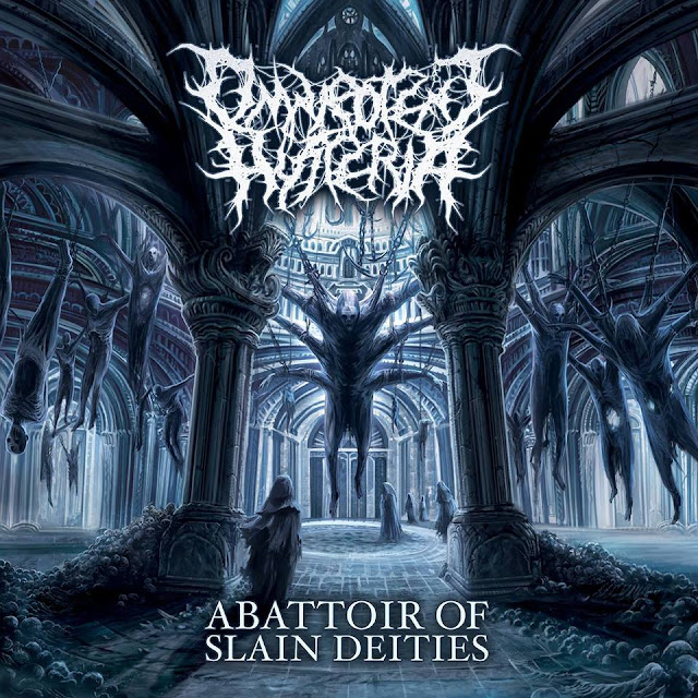 Detail from Omnipotent Hysteria New Album, Abattoir of Slain Deities, Detail from Omnipotent Hysteria New Album Abattoir of Slain Deities